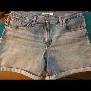 Levi's Jean shorts
